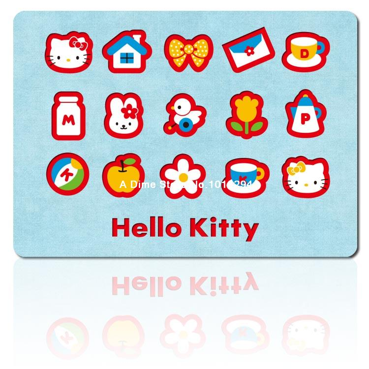 hello kitty mouse pad Light colour mousepad laptop anime mouse pad gear notbook computer gaming mouse pad gamer play mats