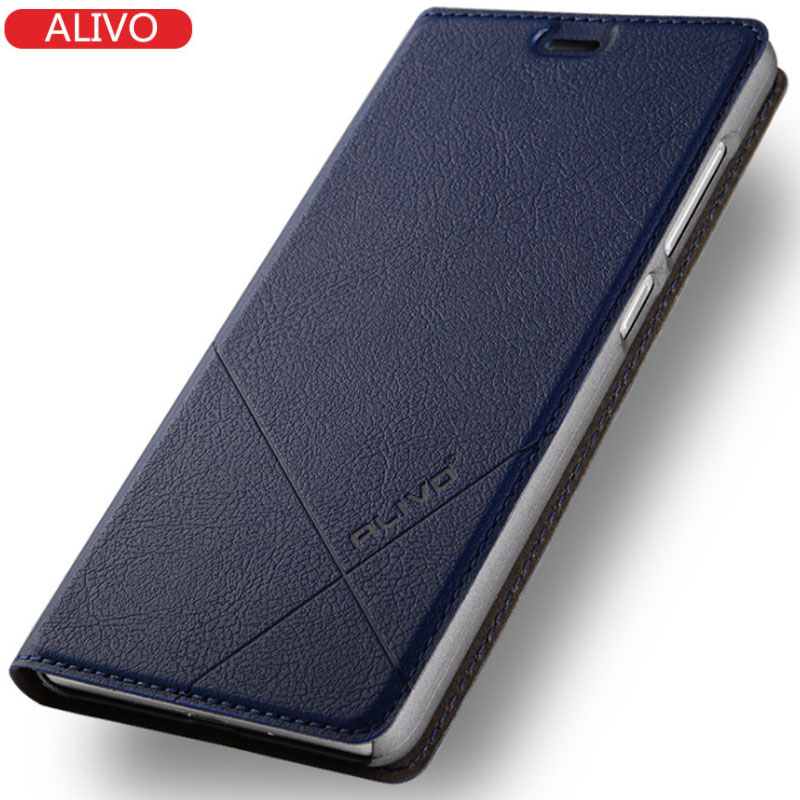 For xiaomi redmi 5 Case High Quality ALIVO Flip Case For xiaomi redmi 5 plus Luxury Leather Cover For xiaomi redmi 5 5 plus case