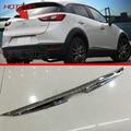 Хром Литье ABS Задних Противотуманных фар Крышка Лампы Для Mazda CX-3 2016 2017 Противотуманных Фар Рефлектор Бампера