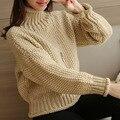 Женские водолазки женские свитера и пуловеры потяните femme пуловеры свитера зимы женщин рождество свитер студент пончо