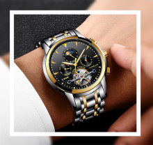 LIGE Watch Automatic Mechanical LIGE9878