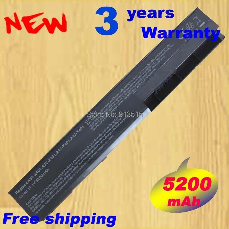 Batterie für ASUS X301 X301A X301U X401 X401A X401U A31-X401 A32-X401 10,8 v