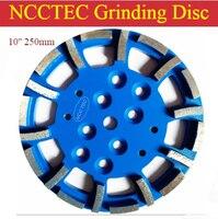 10 ''blastrac зеленый ромбовидный измельчить диск для edco blastrac мясорубку | 250 мм meidum оценка пластины для универсальные напольные | 20 сегментов