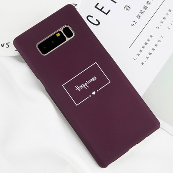 Galaxy Note 8 Case Purple Luxury Fashion TPU Bumper Cover