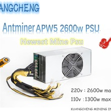 Antminer APW5 2600 Вт BITMAIN PSU подходит для ANTMINER Z9 S9 S9I L3 + D3 A3 Байкал X10 A9 A8 A8 + A6 A5 A4 +