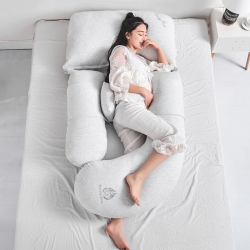 Comfortable Pregnancy Pillow for Side Sleepers Breastfeeding Nursing Support Abdomen Waist Pillows 85*175cm U Cushions Almofada