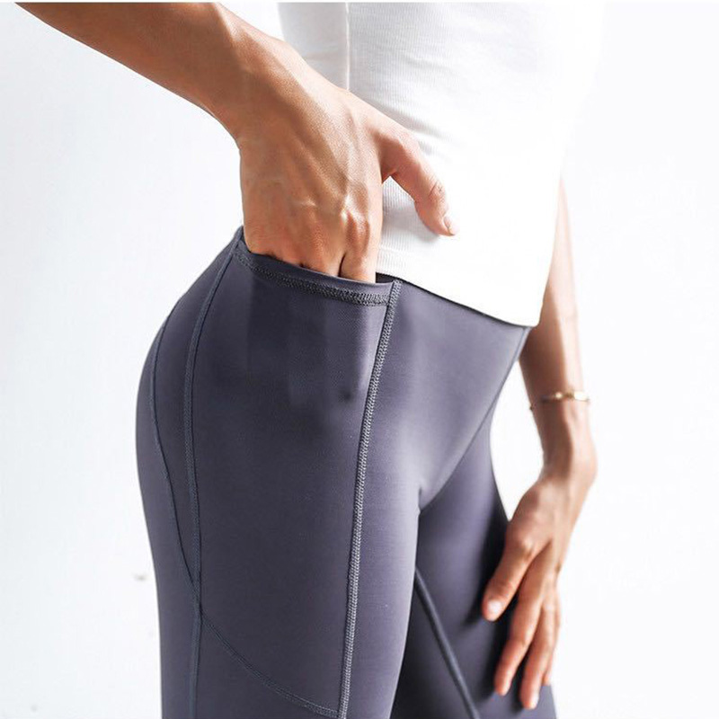 New Quick drying Net Yarn Yoga Pants Black High Waist Elastic Running Fitness Slim Sport Pants Gym Leggings for Women Trousers in Yoga Pants from Sports Entertainment