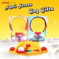 CongMingGu Antistress Toy Funny Gadgets Double Version Fun Face Game Kids Board Games Anti Stress Gag