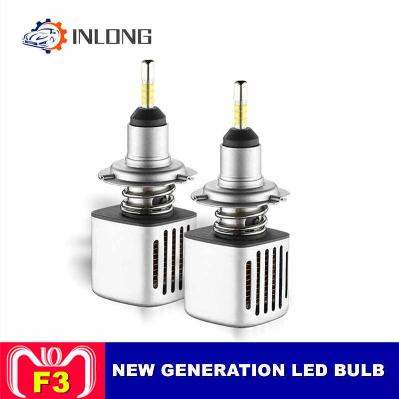 INLONG  H11 9005 9006 Car LED Headlight Bulb H7 H9 H4  D2S D1S HB4 D3S H1 D4S SAMSUNG CSP  60W 11200LM Headlamp Fog Lights 6500K