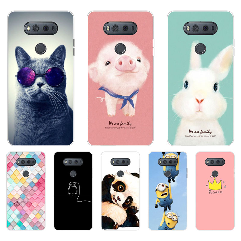 for LG v20 Case,Silicon Space scenery Painting Soft TPU Back