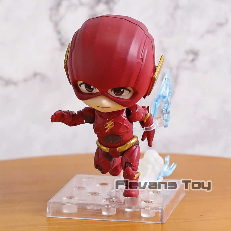 DC Comics Justice League Super Hero The Flash Nendoroid 917 PVC Action Figure Collectible Model Toy image