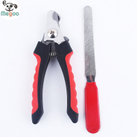 Pet Dog Nail Scissors Clippers Puppy Cat Toe Paw Nail File Trimmer Cutter Grooming Tools Set