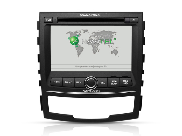 Ssangyong Korando/New Actyon car DVD player, with GPS,TV,Bluetooth,Radio,support Camera,iPod,DVR.Factory Hot Sell