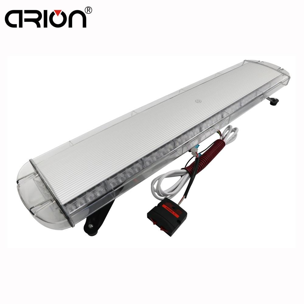 small resolution of cirion 42 1080mm car emergency 80 led strobe light bar truck warning police strobe lights for car red blue white amber 12v 24v