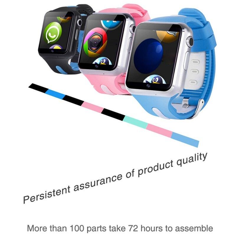 Imperméable à l'eau 3G Wifi montre intelligente GPS sûr Sport Fitness Tracker téléchargeable APP multi-langue en option enfants montre intelligente - 6