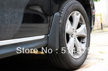 Mud Flaps Splash Guard Mudguard Fenders 4pcs for 13 14 Subaru Forester 2013 2014