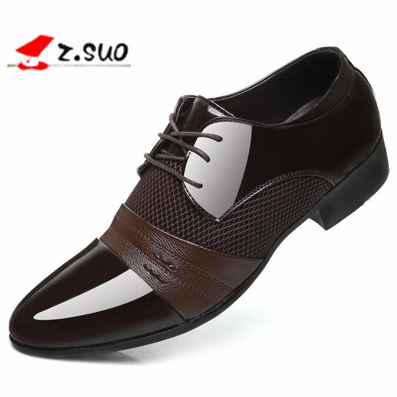 2017 Klasszikus esküvői síkcipők Férfi ruha luxus férfi üzlet - Férfi cipők