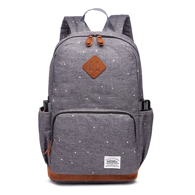 2016 New Vintage School Backpack For High School Brand Backpack Men Solid Travel Bagpack Rucksack Women School Laptop Backpack