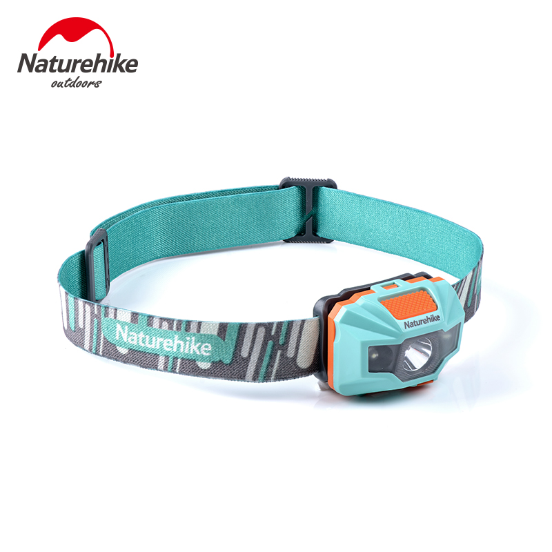 Naturehike Waterproof Headlamp Outdoor Light Tool Portable 4 Modes USB Charge Fishing Camping Cycling LED Head Lamp Outdoor Tool