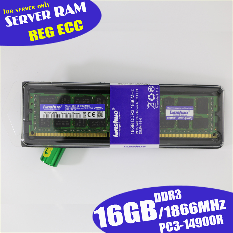 For Samsung 8GB 2RX4 PC3-14900R DDR3 1866mhz Only For ECC Server Reg Memory RAM