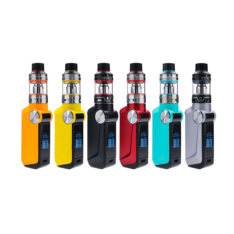 Clearance !! Original E-cigs Kit VOOPOO MOJO 2600mAh Starter Kit with UFORCE Tank update voopoo drag mod electronic cigarette electronic cigarette original voopoo vape mojo 88w tc starter kit 2600mah box mod with 3 5ml capacity uforce sub ohm tank vape