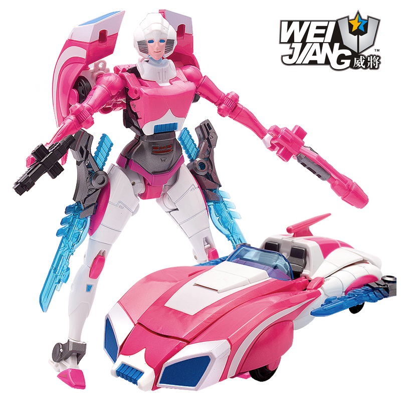 Transformation 4 weijiang metal part oversize Arcee Figure toys New Anime Transformation Robot Action Figures Classic Toys new arrival weijiang m03 battle blades battle hornet mp21 transformation metal alloy part figure toys