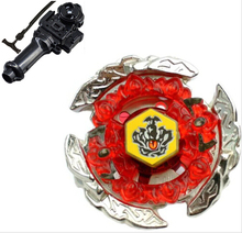 Best Birthday Gift Beyblade 4D Launcher Top BB116C HELL CROWN 130FB Metal Fusion fight Jupiter Set spinning led gyro-toy holzspi