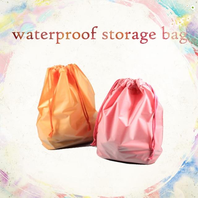 Waterproof Storage bag Underwear Drawstring Belt Package plastic woman man child gym sports exercise travel swim & Waterproof Storage bag Underwear Drawstring Belt Package plastic ...
