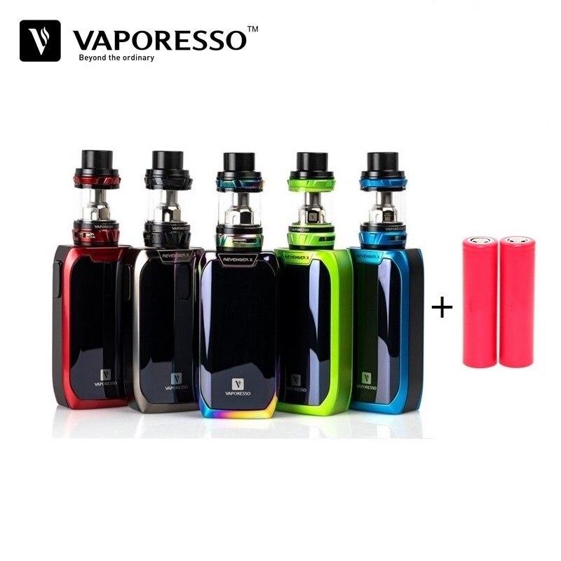 Vaporesso Vengeur X Cigarette Electronique Kit 220 w TC Boîte Mod 5 ml Vaporisateur Réservoir GT Bobine Eletronic Narguilé Vaporisateur e-Cigarettes