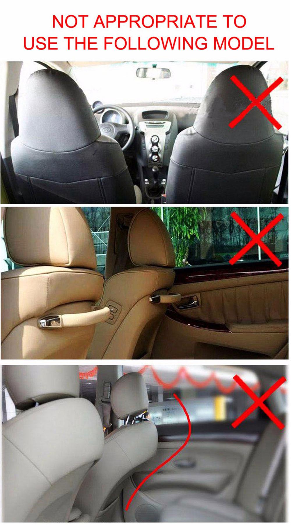 Car Organizer waterproof Car seat covers protector mat Car Storage Bags Seat Back Protector Case Cover Multi-Purpose 7