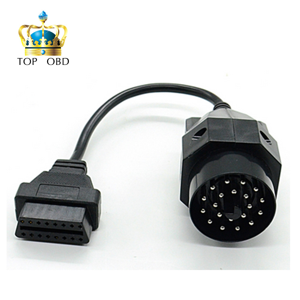 Obd Obd Ii Adapter For Bmw 20 Pin To Obd2 16 Pin Female