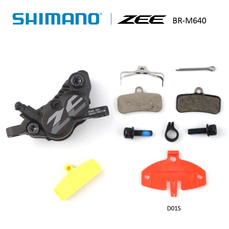 no Shimano M640 Zee Brakes : Front Left Hand Lever 1000mm Hose With Fins