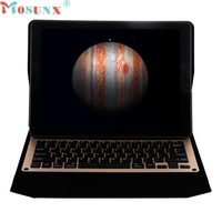 Top Quality For IPad Air2 9 7inch Ultra Bluetooth Keyboard Folio Leather Case Protective Cover USB