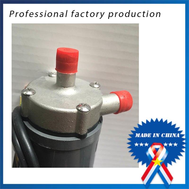 6W Hot Sell beer Stainless Steel Head Magnetic Drive Pump food grade high temperature resisting 140 degree beer magnetic drive pump