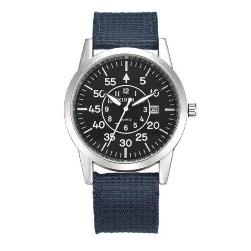 XINEW Mens Watches Calendar Military Top-Brand Casual Fashion Luxury Original Quartz