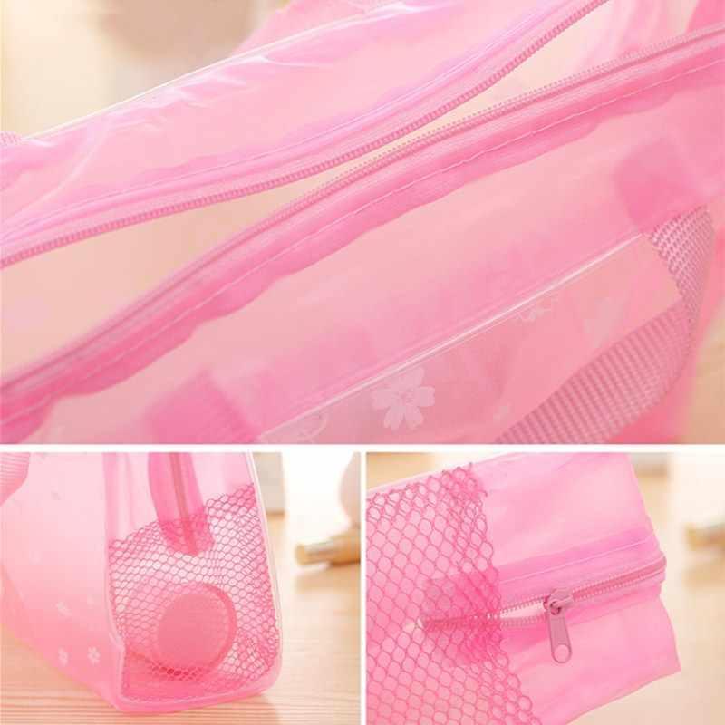 5 kolorów torby do pływania sport podróży torba do przechowywania kąpieli kobiety przezroczysty organizer etui na telefon pcv