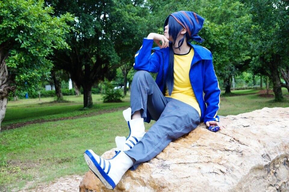 Digital Monsters 4 Digimon Frontier Minamoto Kouji Cosplay ...