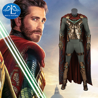 Manluyunxiao SpiderMan Mysterio Halloween Costume for Kids Man Far From Home Halloween Cosplay Men's Superhero Sets Suit