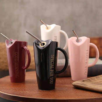 Novelty Ceramic Cup with StrawPersonality Kitchen Coffee Mug Creative Frosted Tea Cup 480ml Home Office Drinkware Unique Gifts - DISCOUNT ITEM  0% OFF All Category