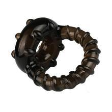 Пенис рукав Для мужчин тройное кольцо петух задержки Секс-игрушки для Для мужчин высокие эластичные пояс верности мужской кольцо пениса