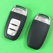 1 шт./лот Смарт-Карта-Ключ Для Audi A4 A4L A6 A6L Q3 Q5 Q7 Дистанционный Ключ Крышка 3 Кнопки Замена Fob