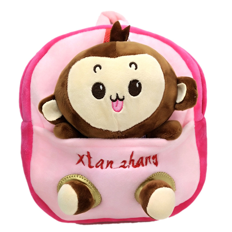 Cute Girls backpack schoolbag Monkey Bag birthday gift cute mini school bag for kids childs cartoon boys backpack mochila