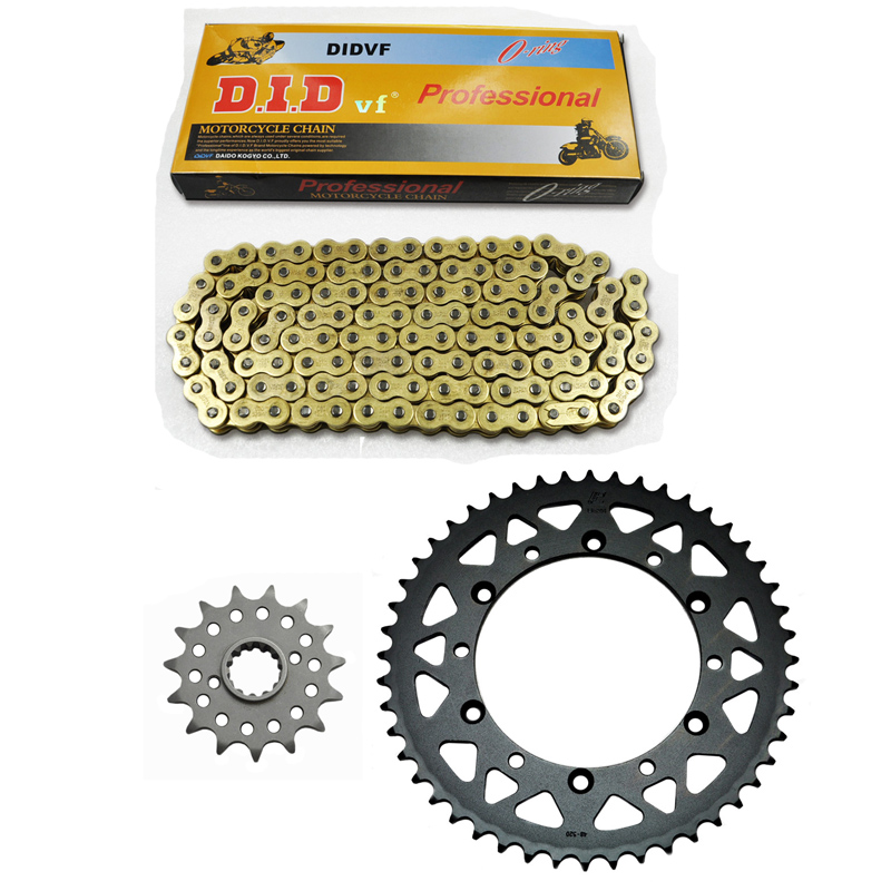 ONE PACK MOTORCYCLE 520 CHAIN Front & Rear SPROCKET Kit Set FOR Kawasaki Road KLX650R A1,A2,A3,D1 1993 1994 1995 1996 1 set motorcycle front