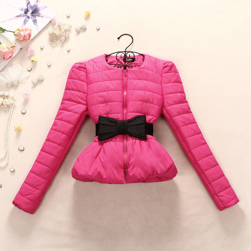 NEW FASHION!2016 Thick Snowwear Puff Short Jackets Cotton Parka Jacket Coat Women Winter Cotton Coats Slim Plus SIze Jacket