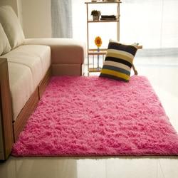 Unikea 80*160 cm/31.49 * 62.99in salon dywany z mikrofibry wygodne i miękkie siedzenia dywan pokojowy dywan w Dywany od Dom i ogród na