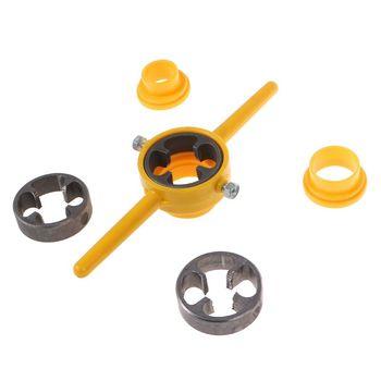 Набор инструментов для изготовления резьбы из ПВХ, набор штампов NPT, картридер для труб для насосов, ручной инструмент, Новинка