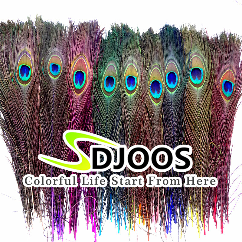 50 Pcs Natural Peacock Feathers For Sale Costume