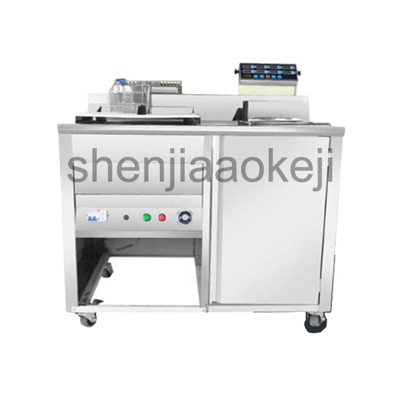 Commercial fryer electric frying machine mobile electric chicken steak snack car 220v 6000w 1pc shipule fast food restaurant 30l commercial electric chicken deep fryer commercial potato chips deep fryer frying machine
