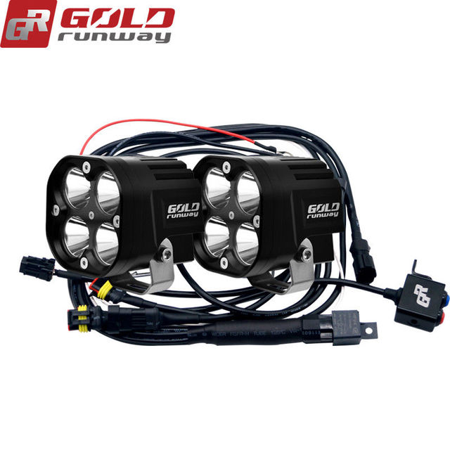 GOLDRUNWAY W LED Auxiliary Lights U USA LED Work Light Spot - Car sign with namesonline get cheap d led sign aliexpresscom alibaba group