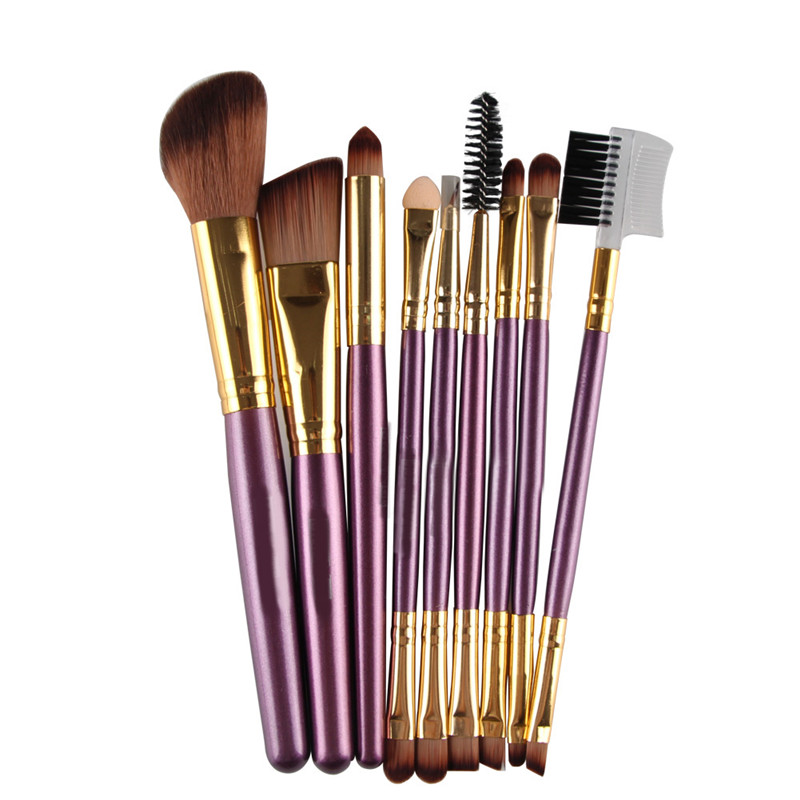 9Pcs Cosmetic Makeup Brush Foundation Makeup Tools Professional Makeup Brushes Set Women Beauty Makeup Brushes Kit